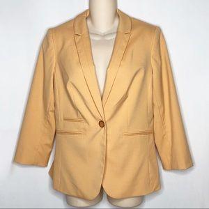The Limited | Orange Creamsicle Colored Blazer